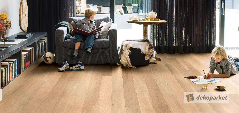 El aspecto de la madera sin la necesidad de mantenimiento: Suelo laminado
